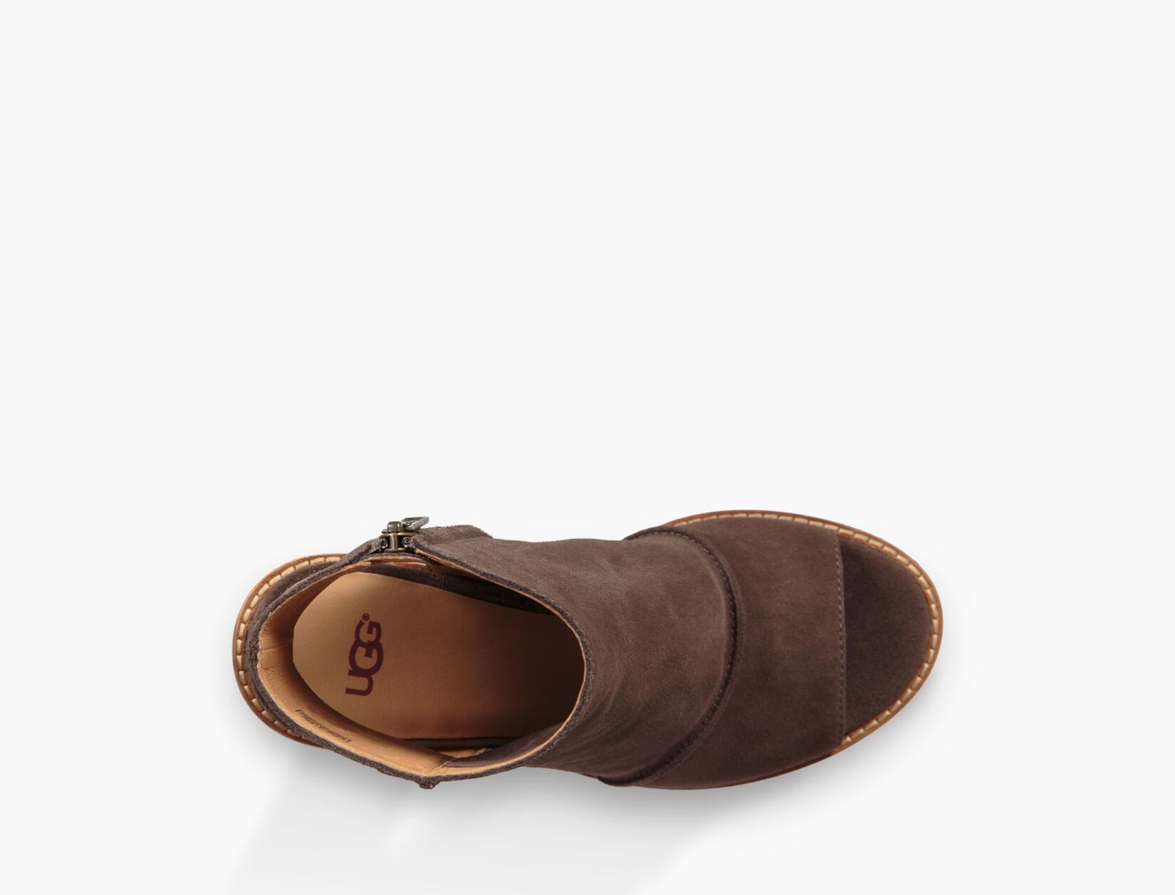 Valencia Peep Toe Boot