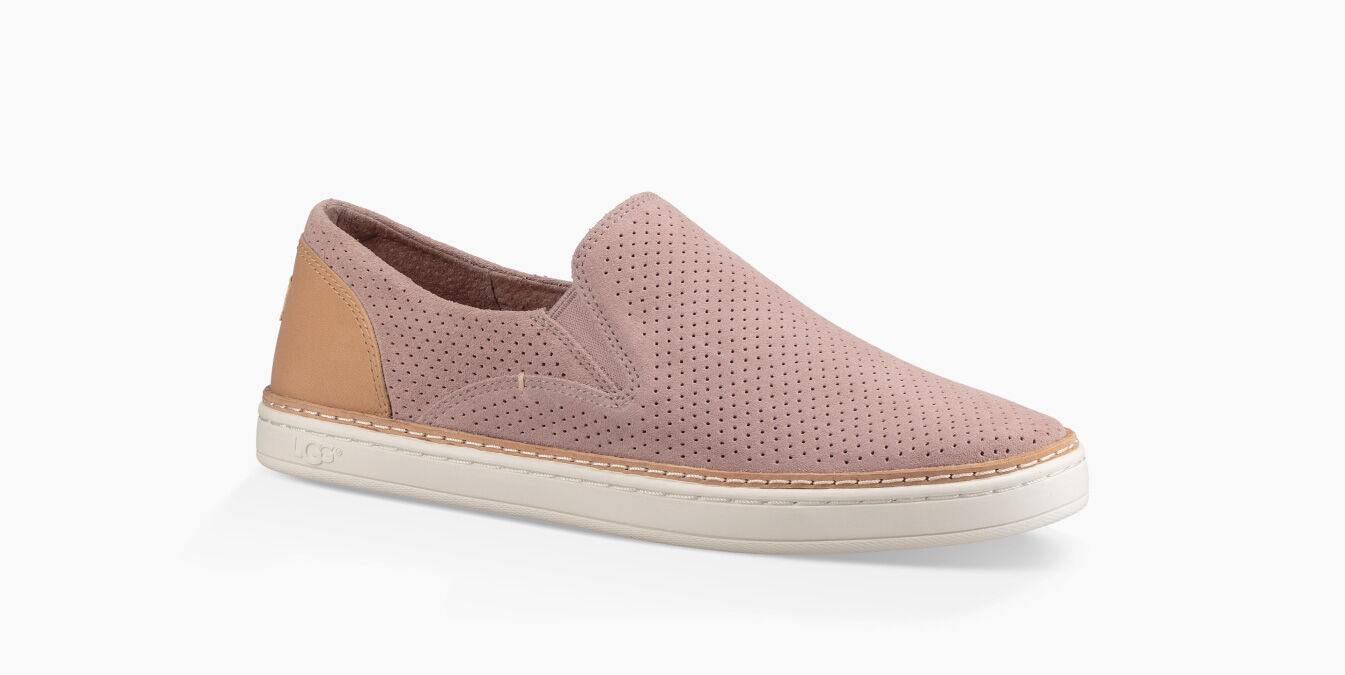 Classic Slip On Perforated Leather