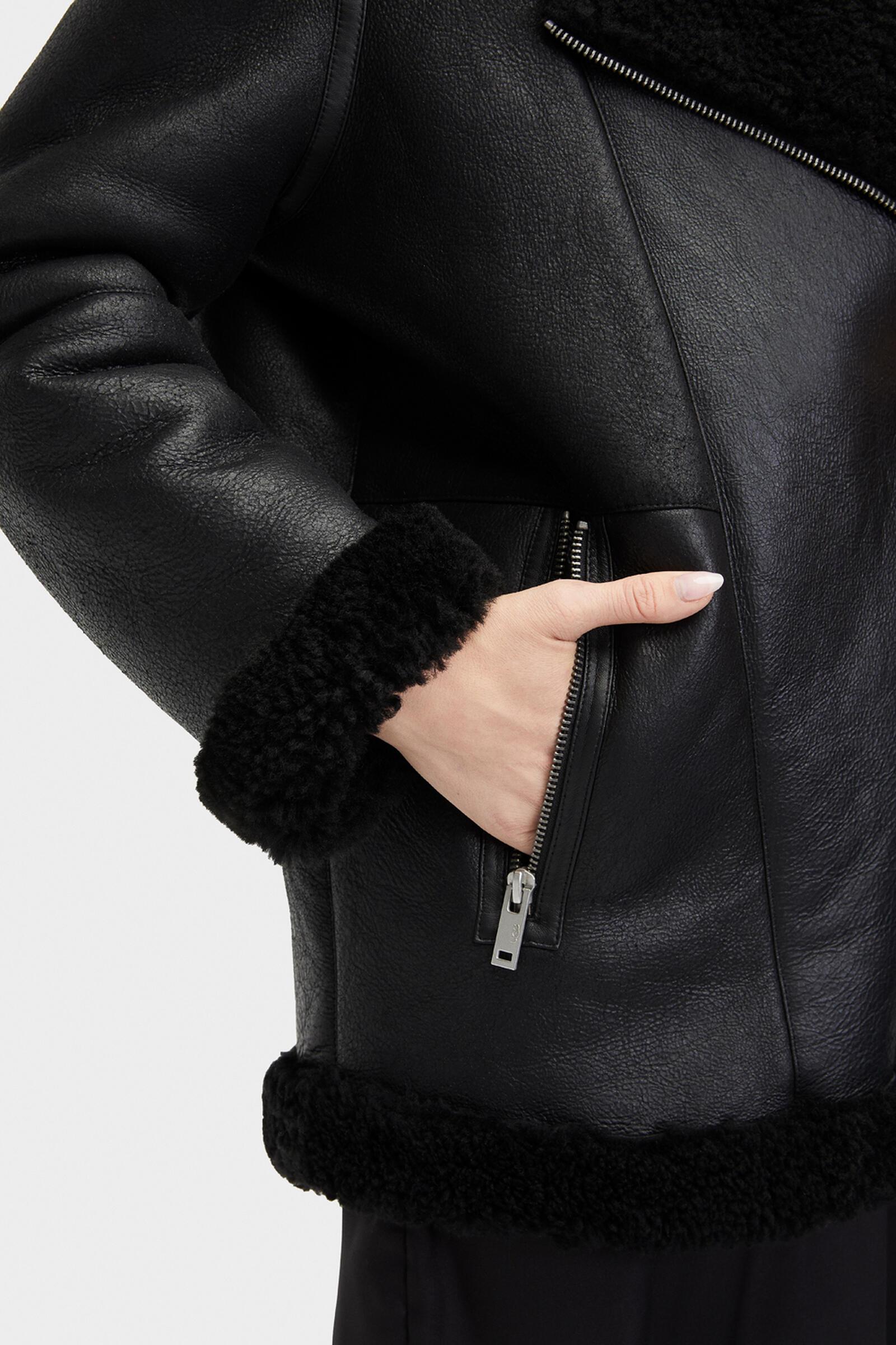 Arrabela Shearling Moto Jacket