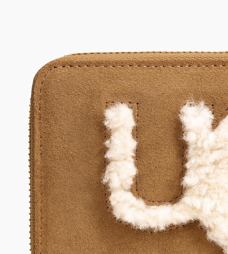 Honey Sheepskin Wallet