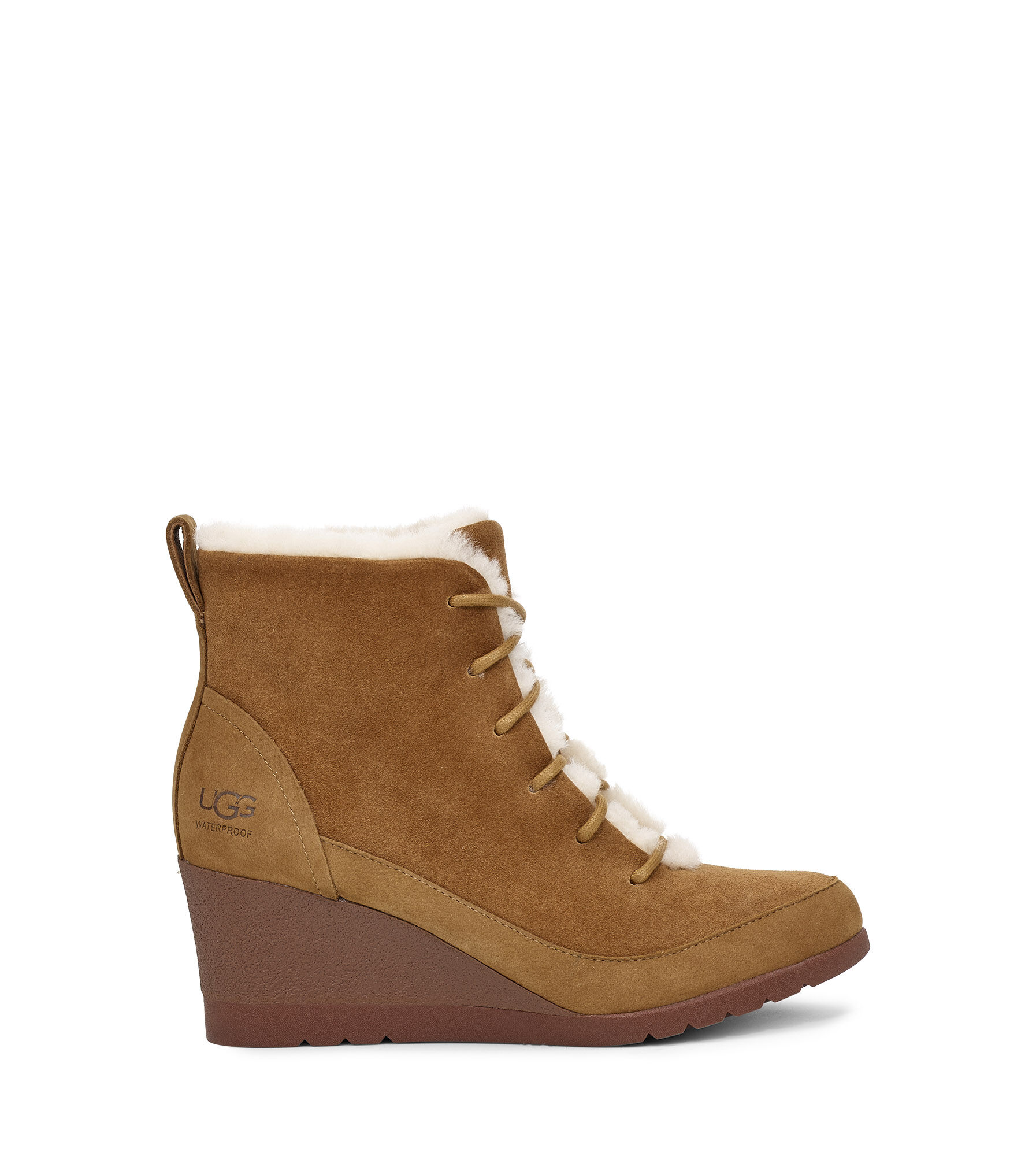 Prix raisonnable Femme UGG Boots fourrées cuir suède noir