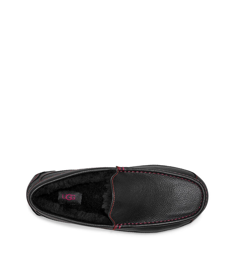 Ascot Marble Leather Slipper
