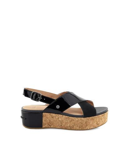 Shoshana Patent Platform Sandal