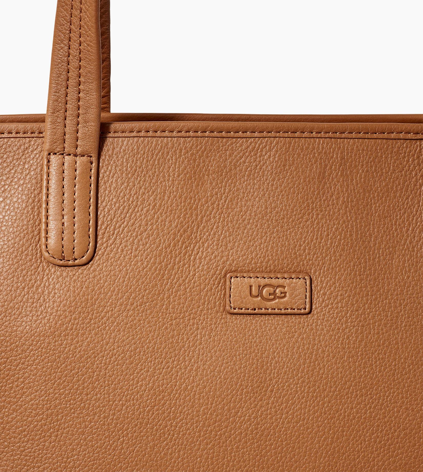 Alina Leather Tote Bag