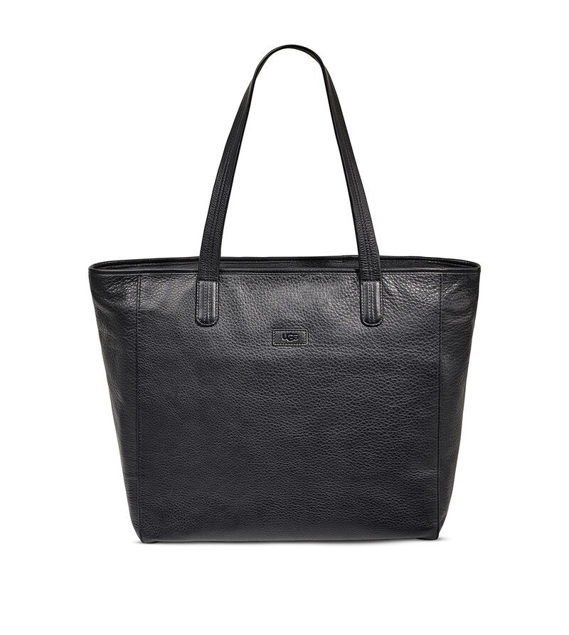 Alina Leather Tote Bag