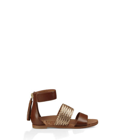 Marabel Metallic Sandal