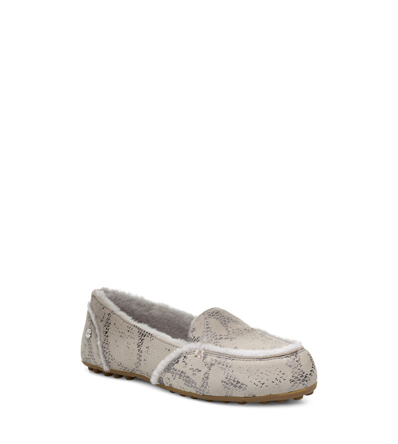 Hailey Metallic Snake Loafers