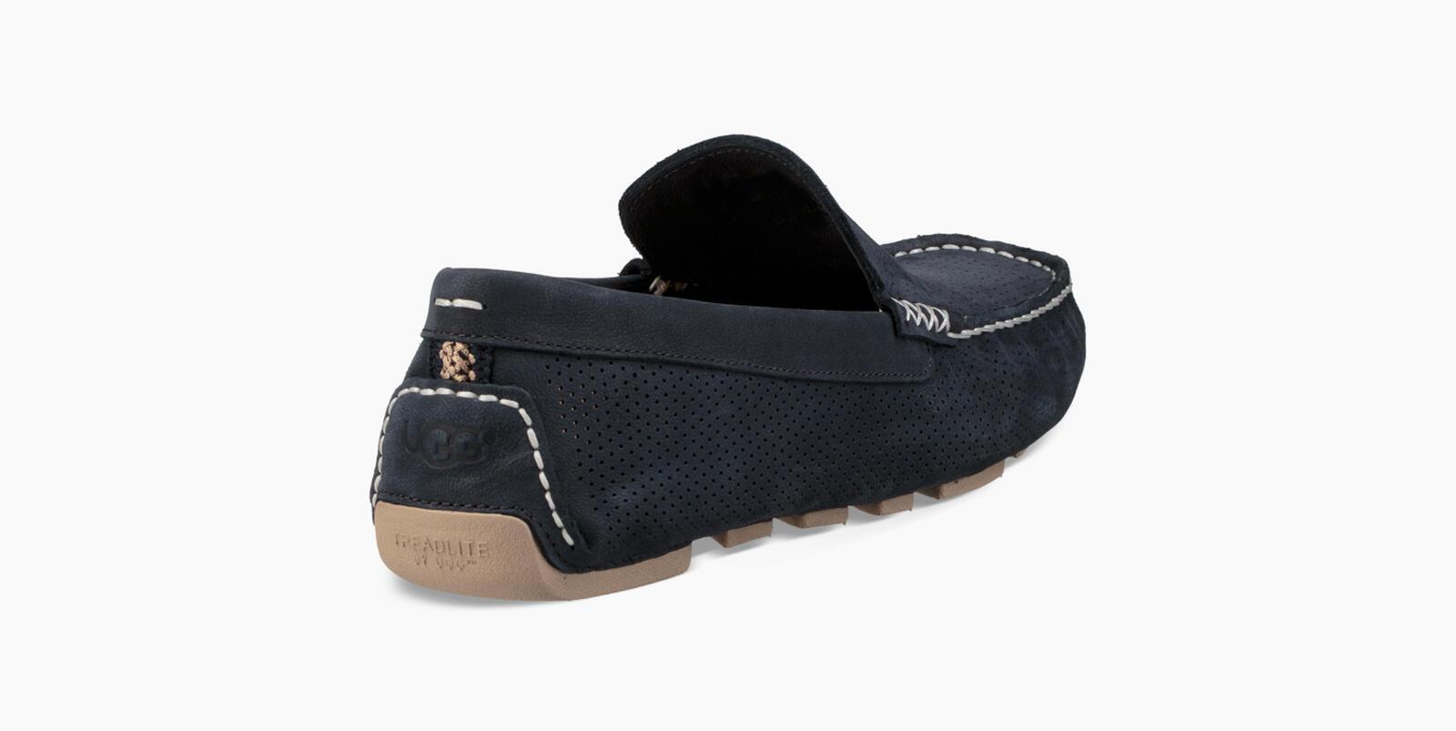 Henrick Stripe Perf Loafers