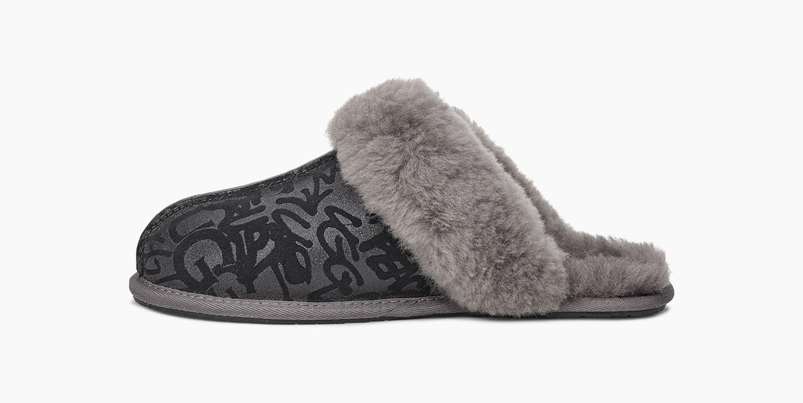 Scuffette II Sparkle Graffiti Slipper