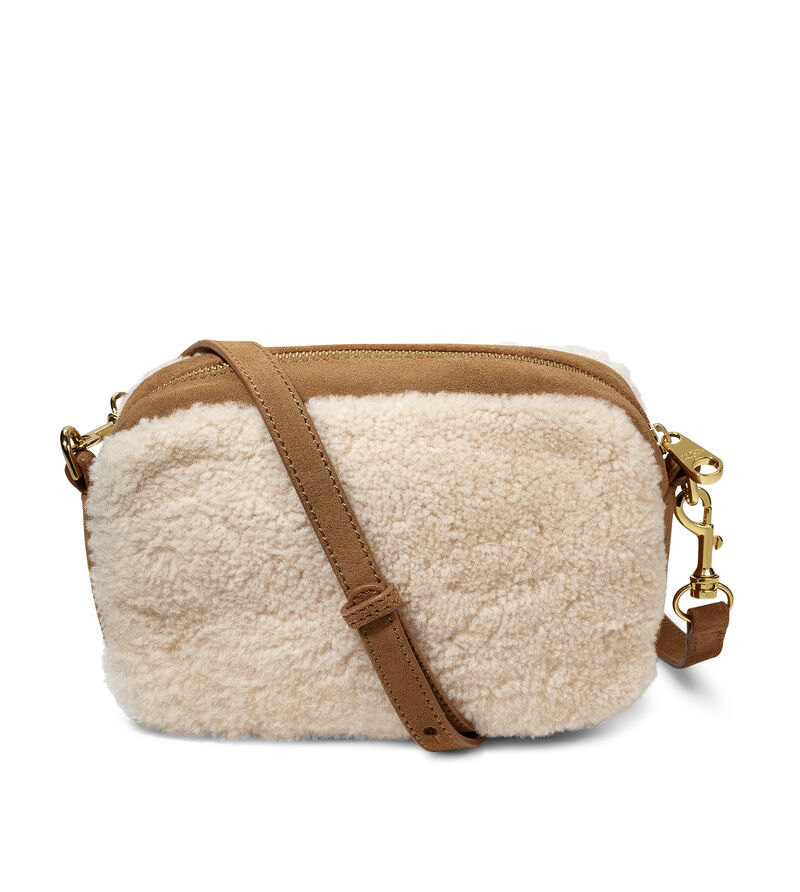 Janey Crossbody Sheepskin Bag
