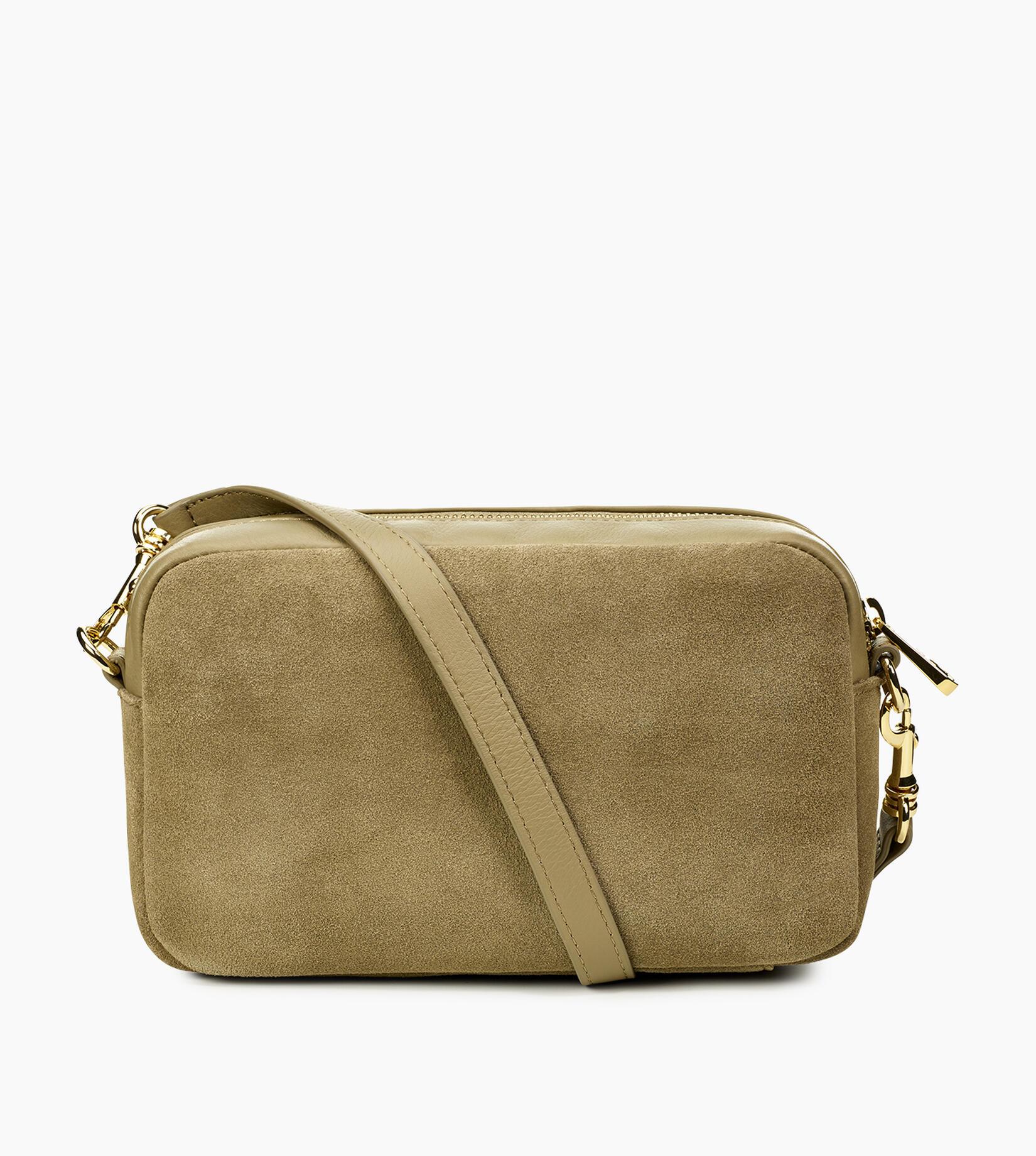 Janey Suede Crossbody Bag