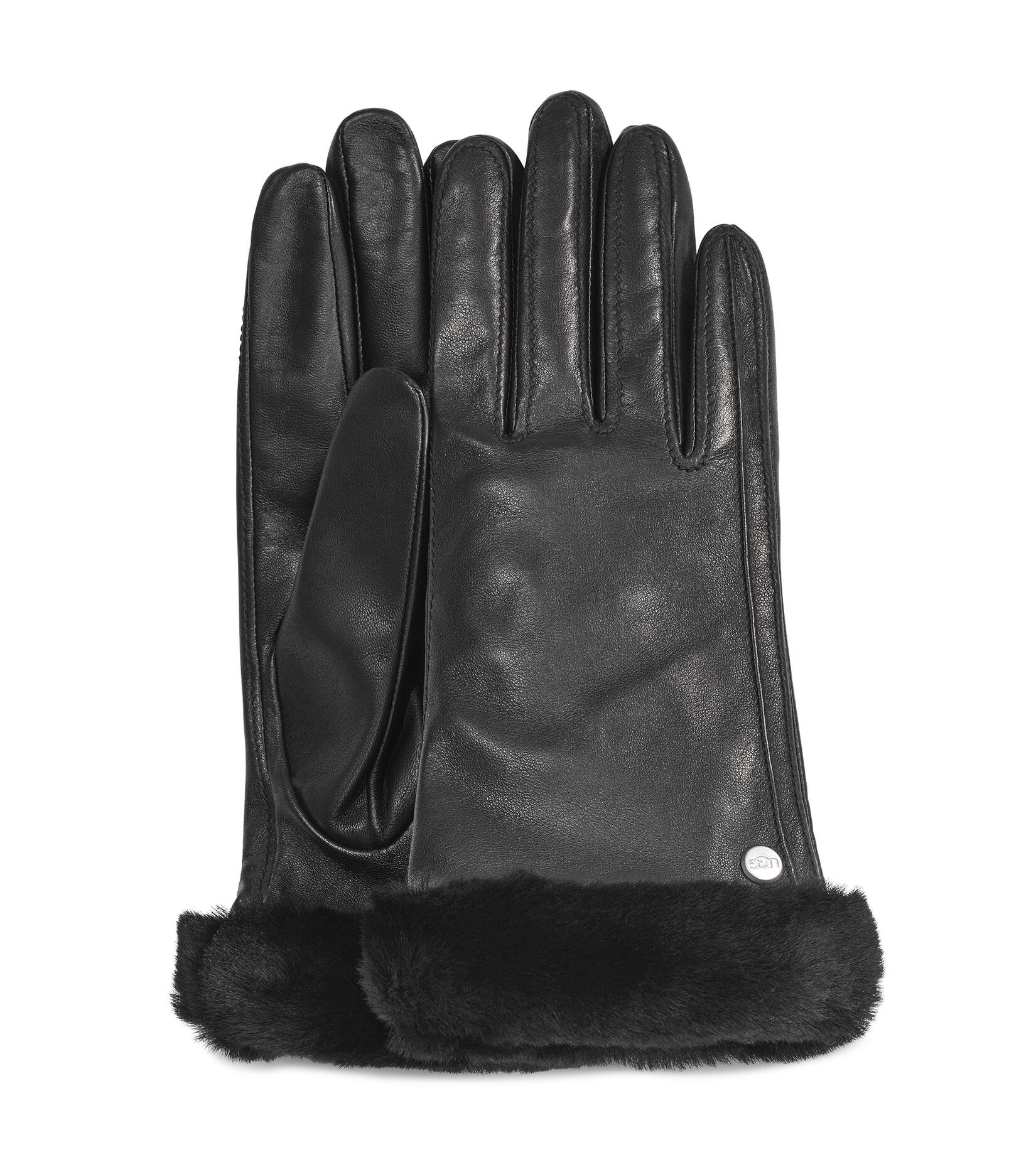 Classic Shorty Leather Tech Glove