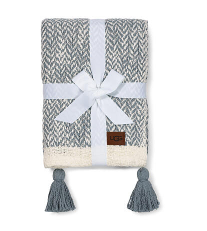 Leigh Herringbone Throw