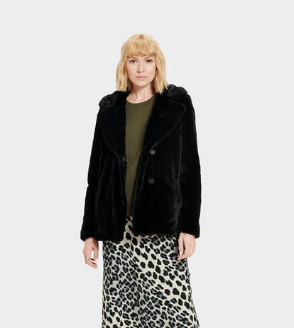 Rosemary Faux Fur Jas