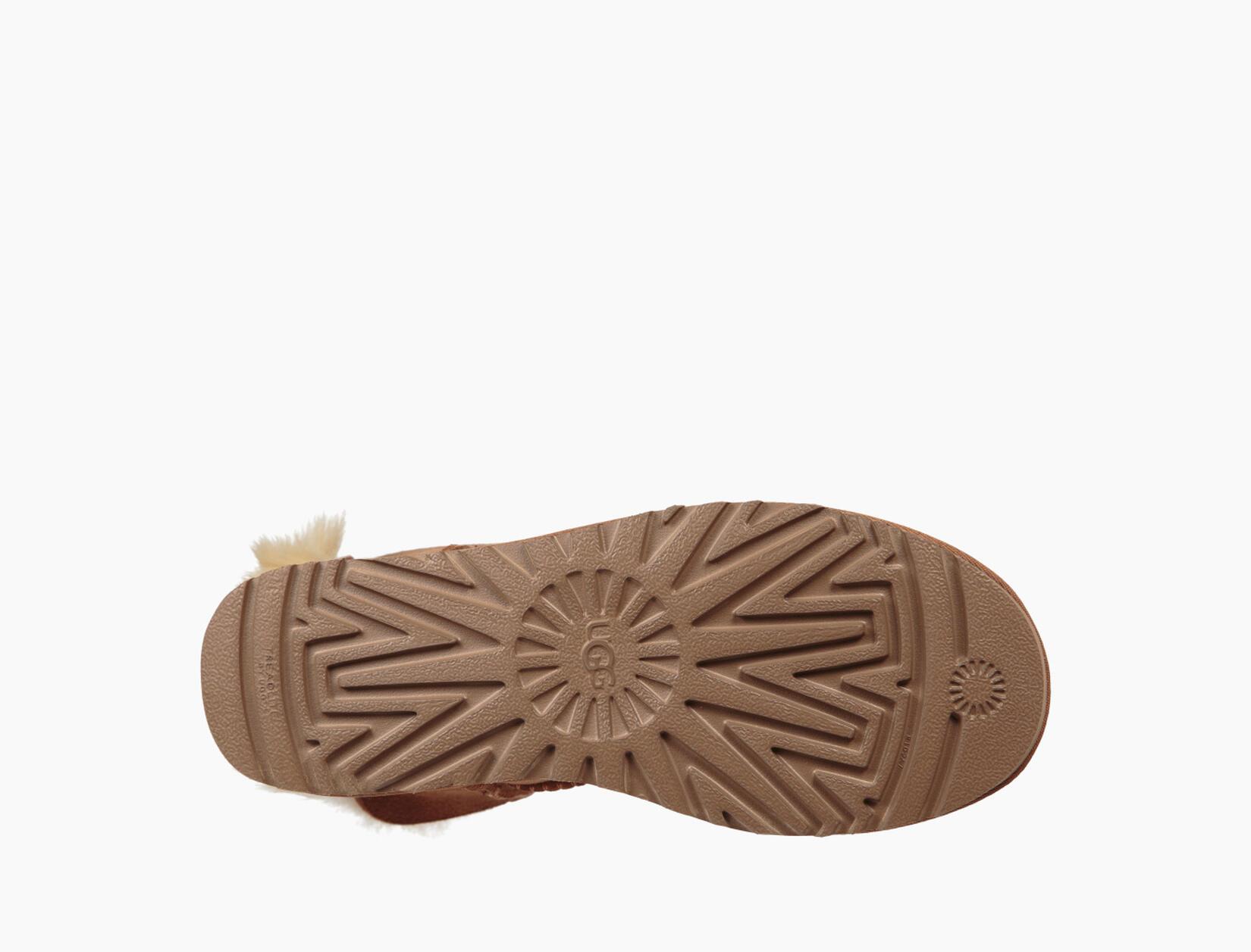 Fluff Bow Mini Boot