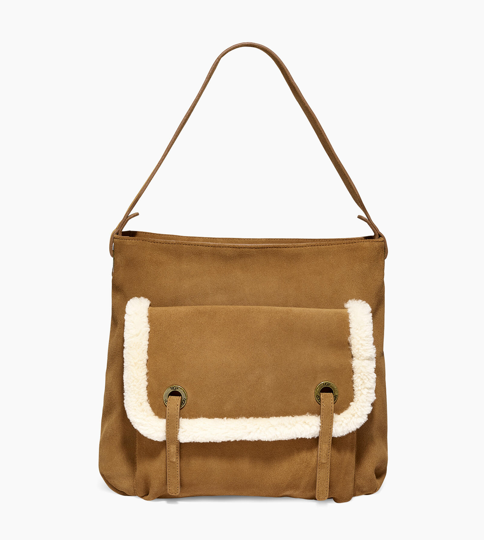 Heritage Hobo Suede Bag