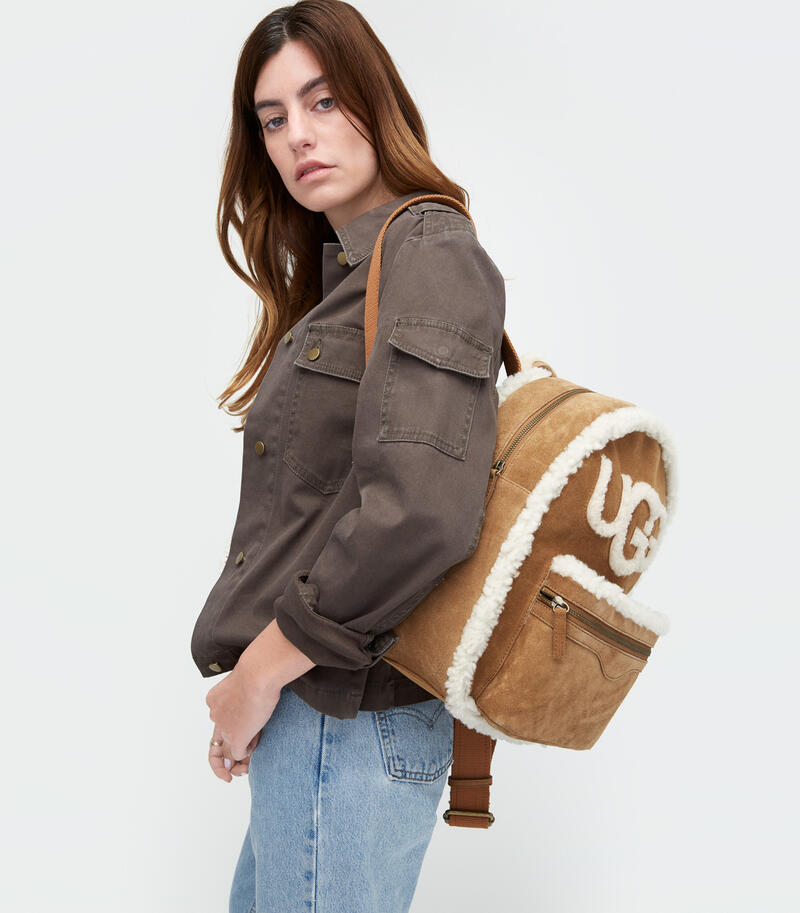 Dannie Sheepskin Backpack