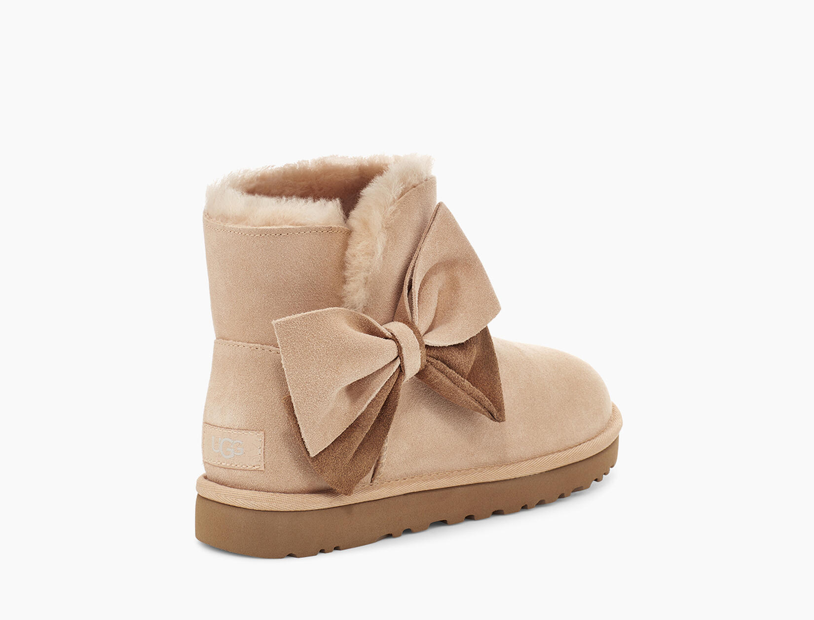 Classic Mini Two-Tone Bow Boot