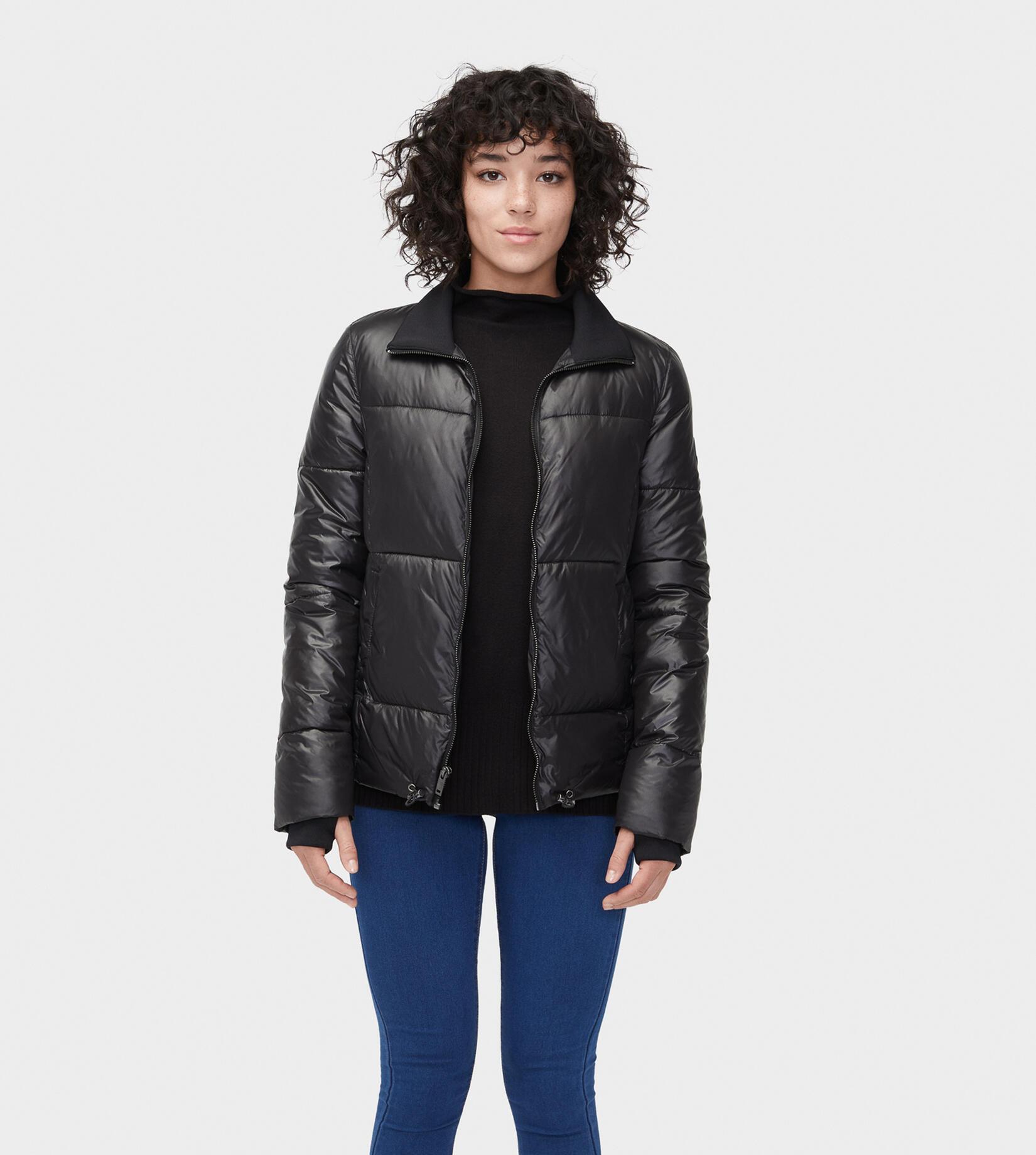 Izzie Puffer Nylon Jacket