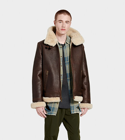 Men's Auden Shearling Aviator Jacket
