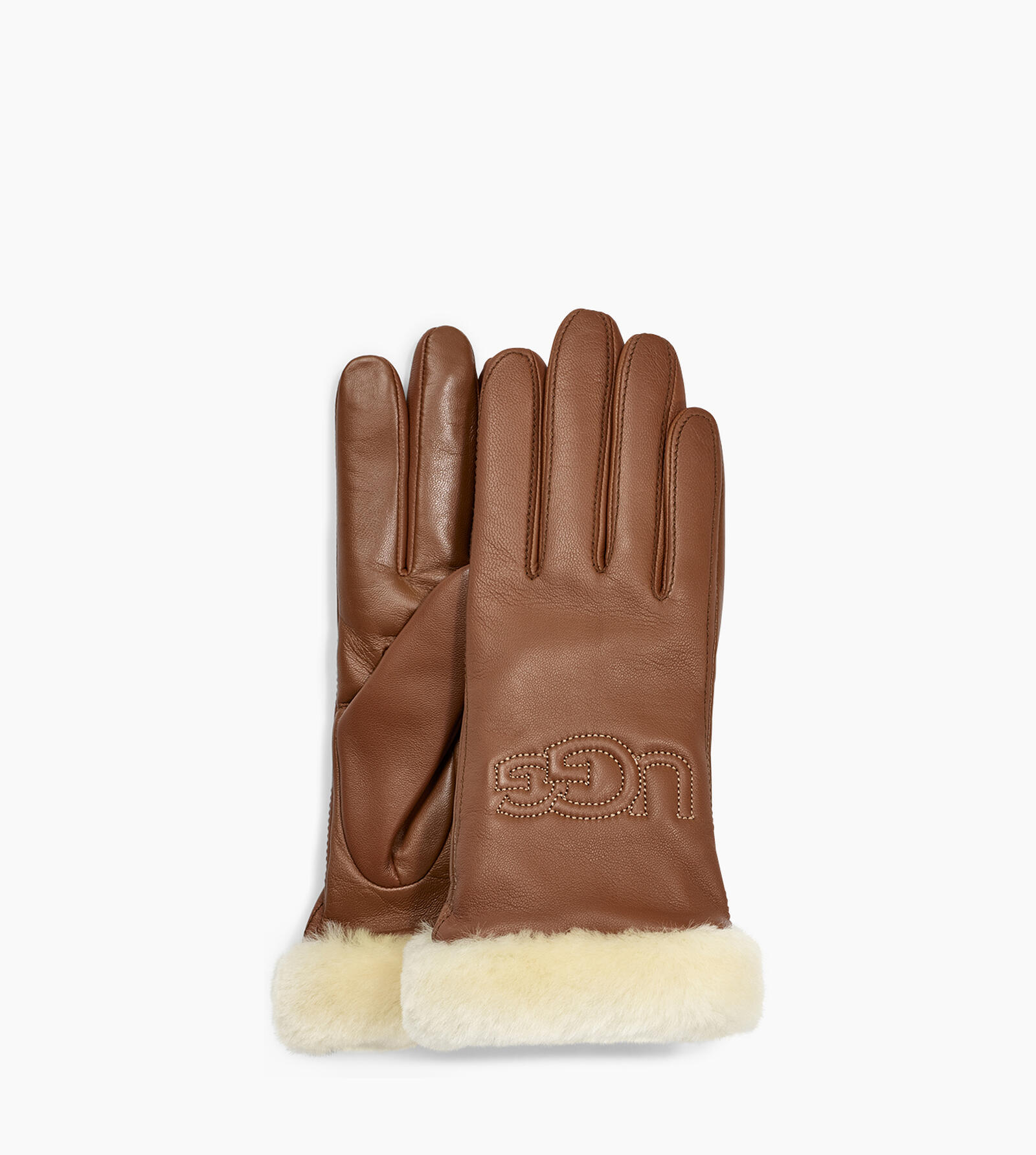 Classic Leather Logo Glove