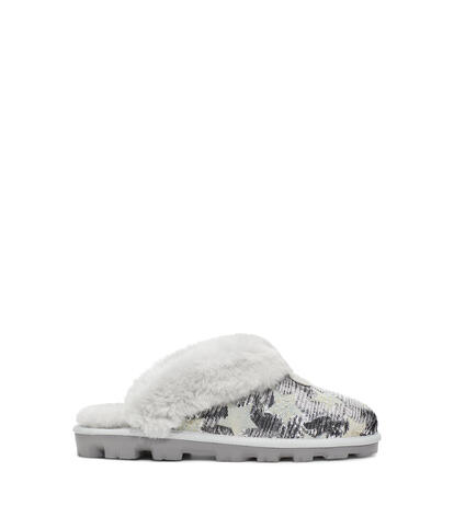Coquette Sequin Stars Slipper
