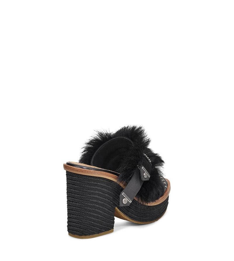 Fluff Punk Heel Sandal