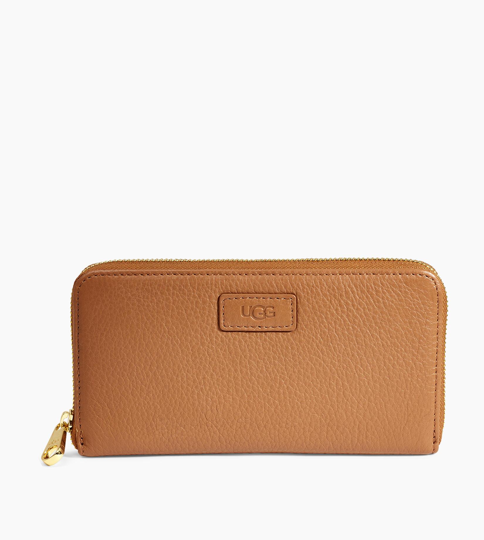 Honey Zip Leather Portemonnaies