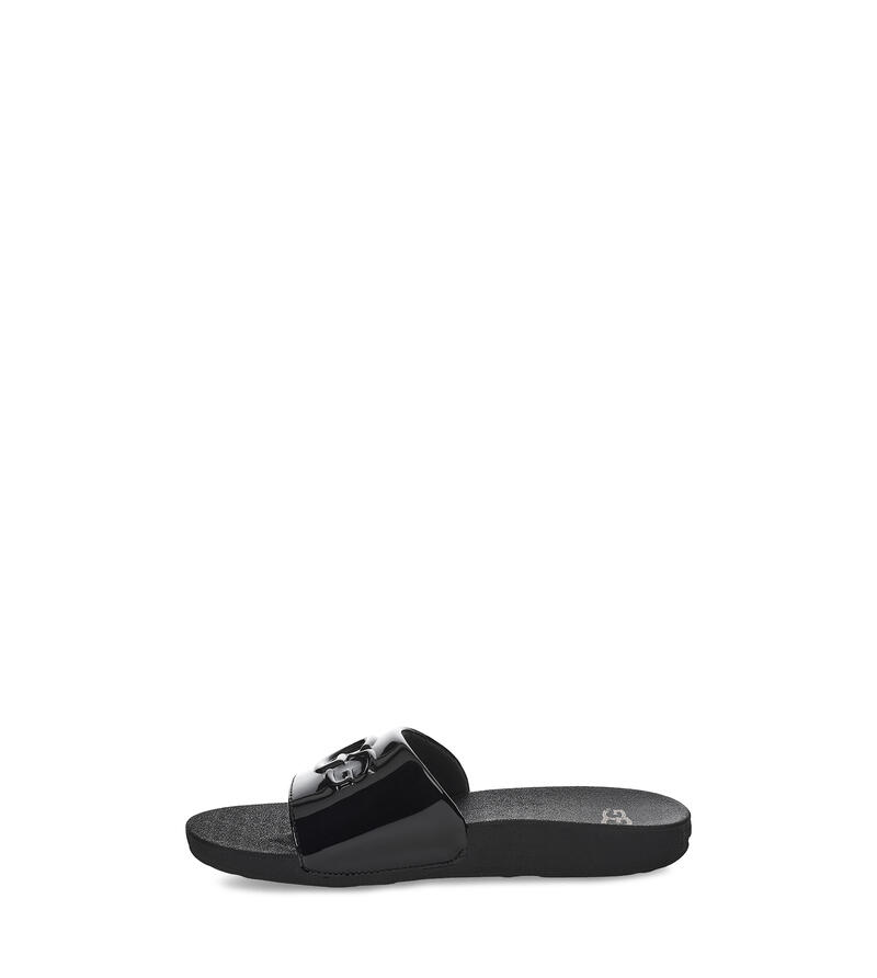 Graphic Slide Sandalen