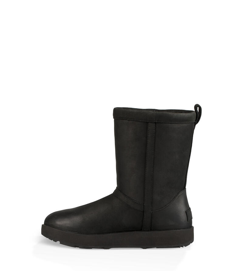 Classic Short Leather Waterproof Bottes