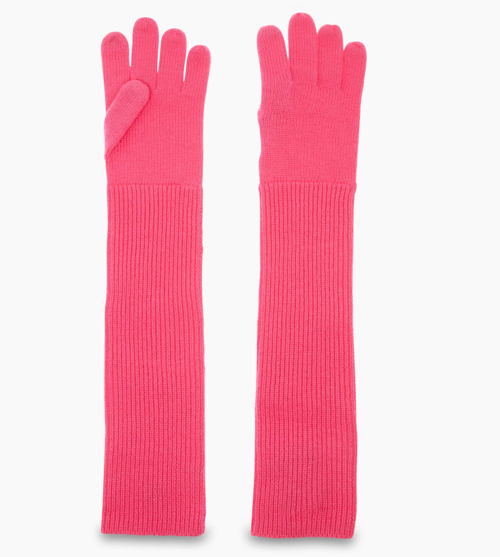 Long Cuff Knit Glove