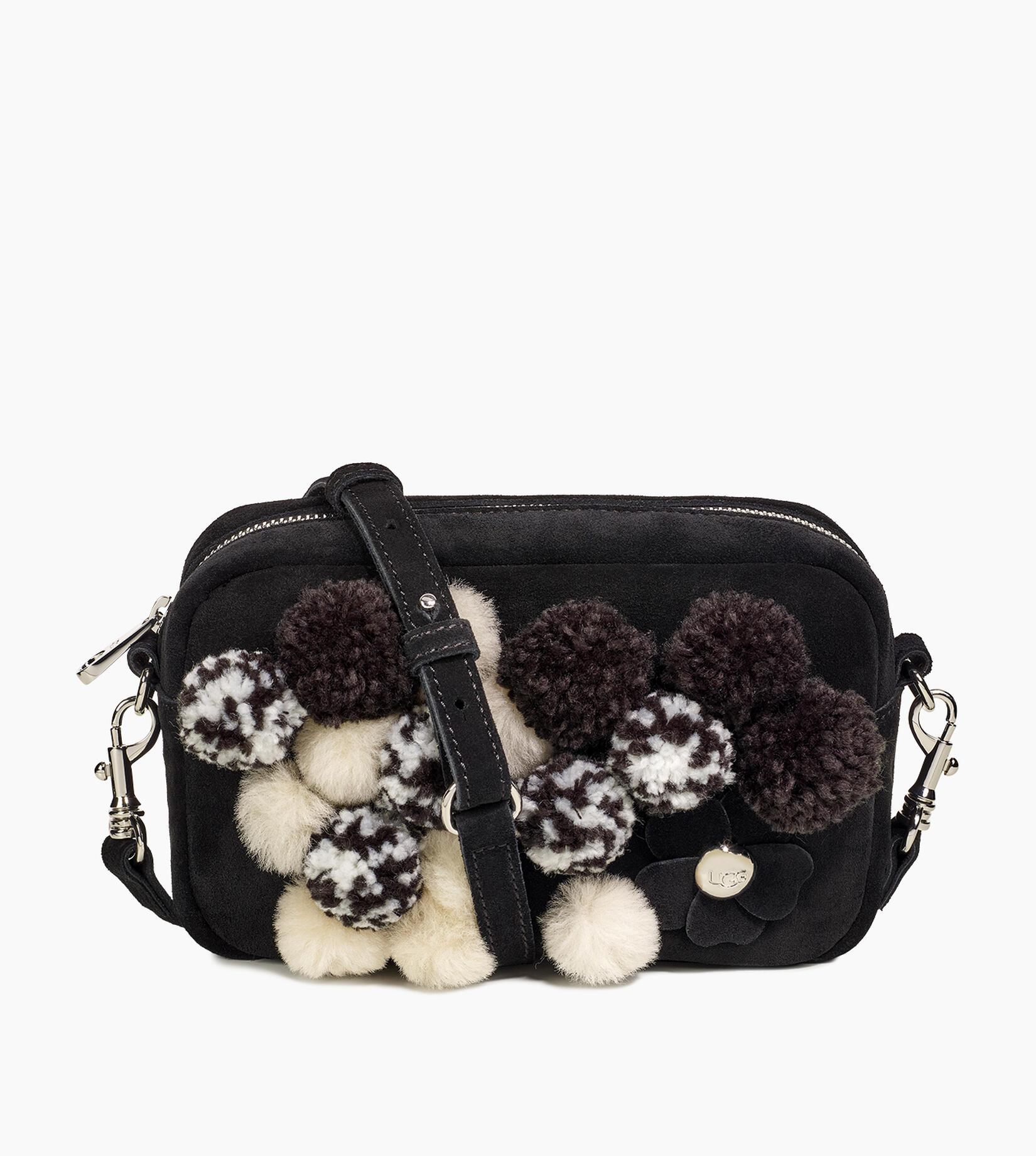 Janey Pom Pom Crossbody Bag