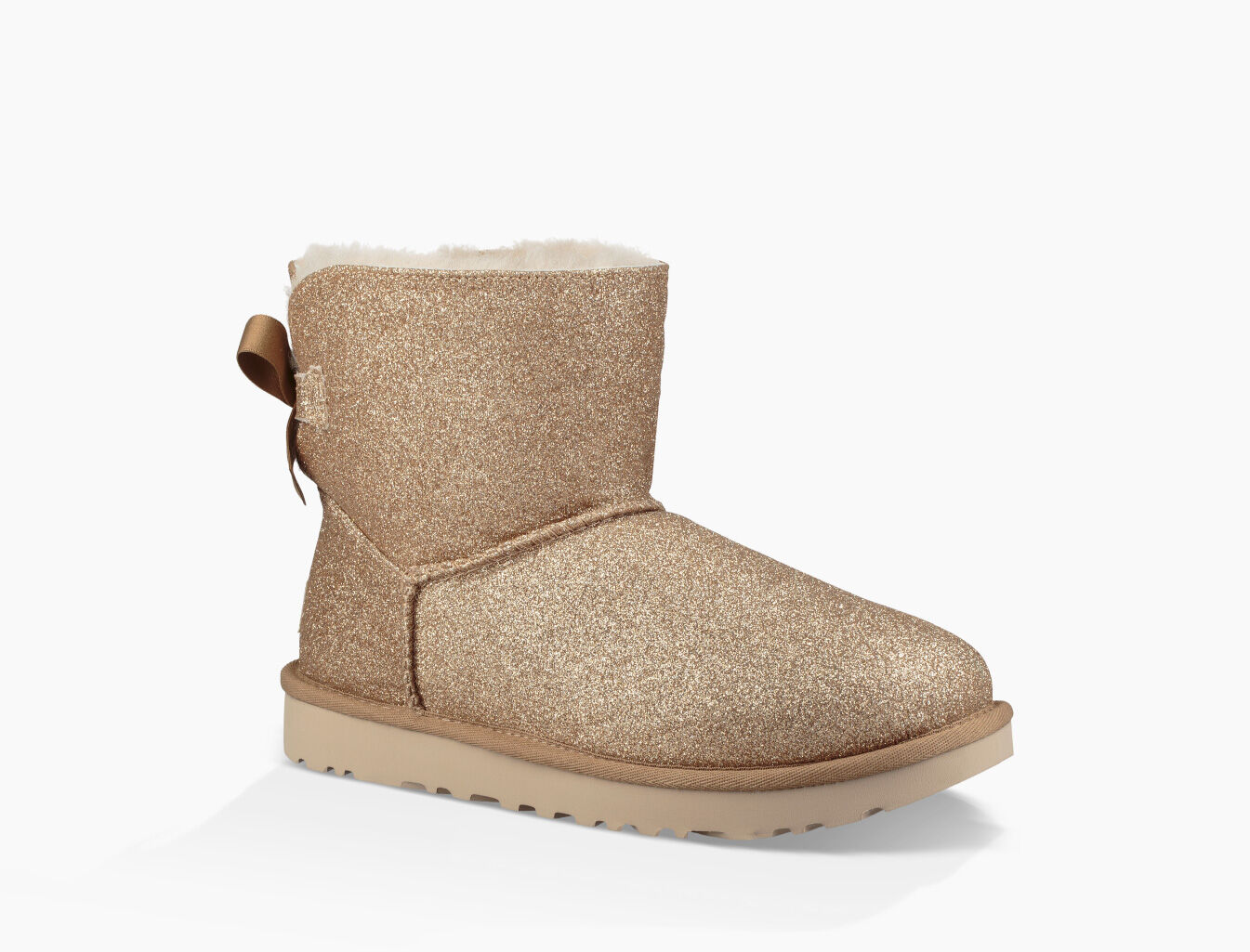 UGG® Mini Bailey Bow Sparkle Boot for