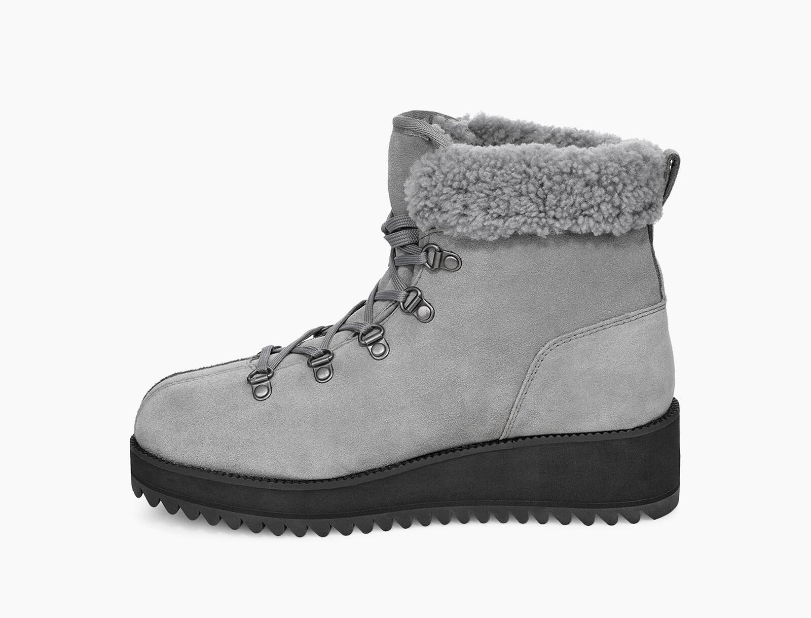 Birch Lace-Up Shearling Boot