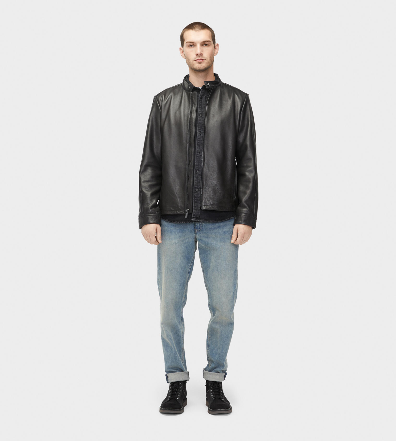 Orlando Leather Racer Vestes