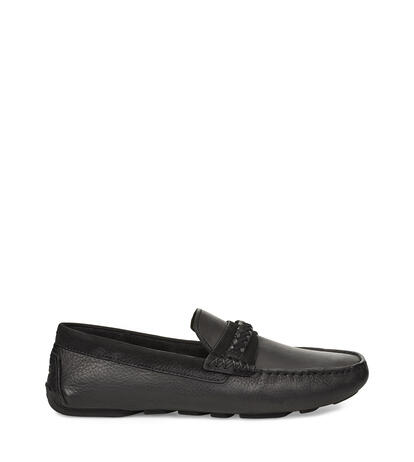 Henrick Leather Braid Mocassins