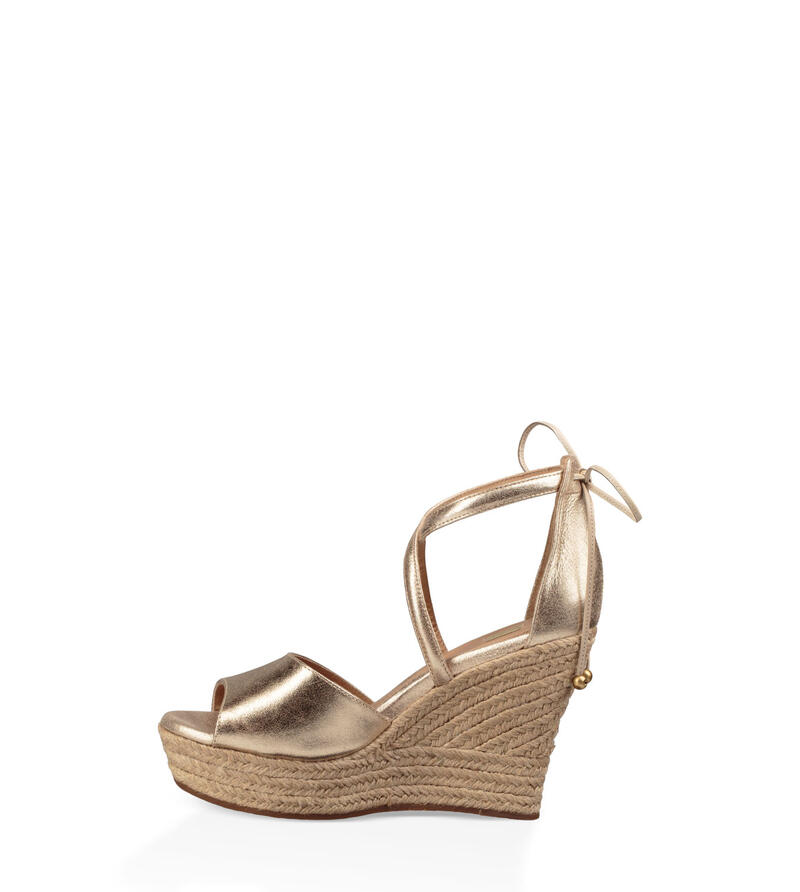 Reagan Metallic Wedge