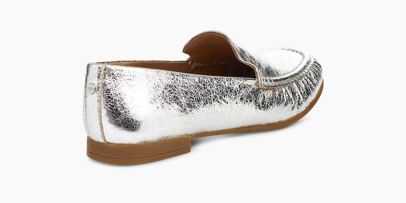 Vivian Metallic Loafer