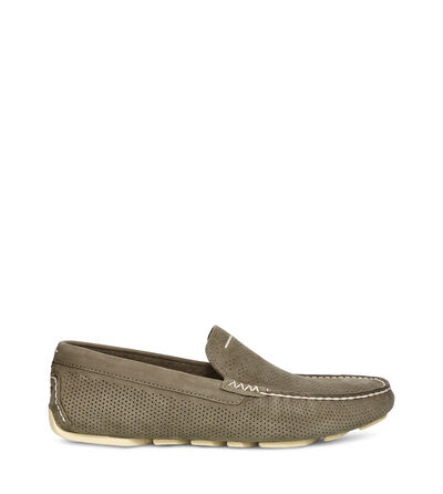 Henrick Stripe Perf  Loafers