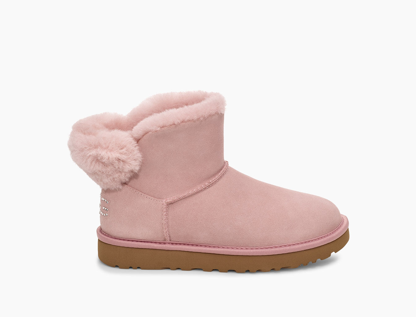 UGG Australia ® classic mini II dames laarzen pink crystal