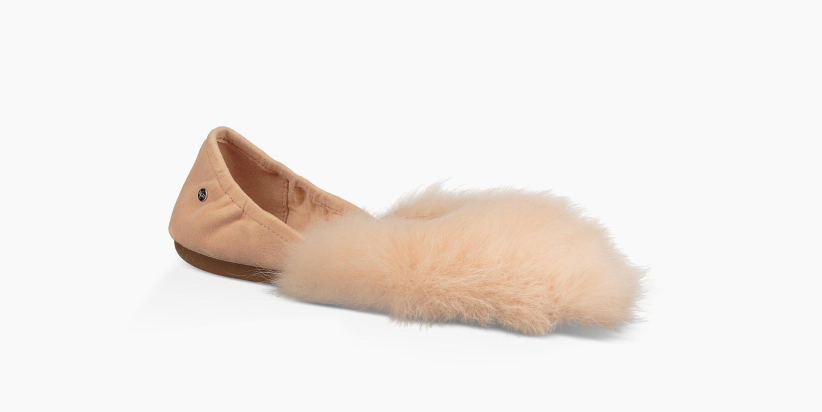 Jeanie Fluff Flat Slip-On