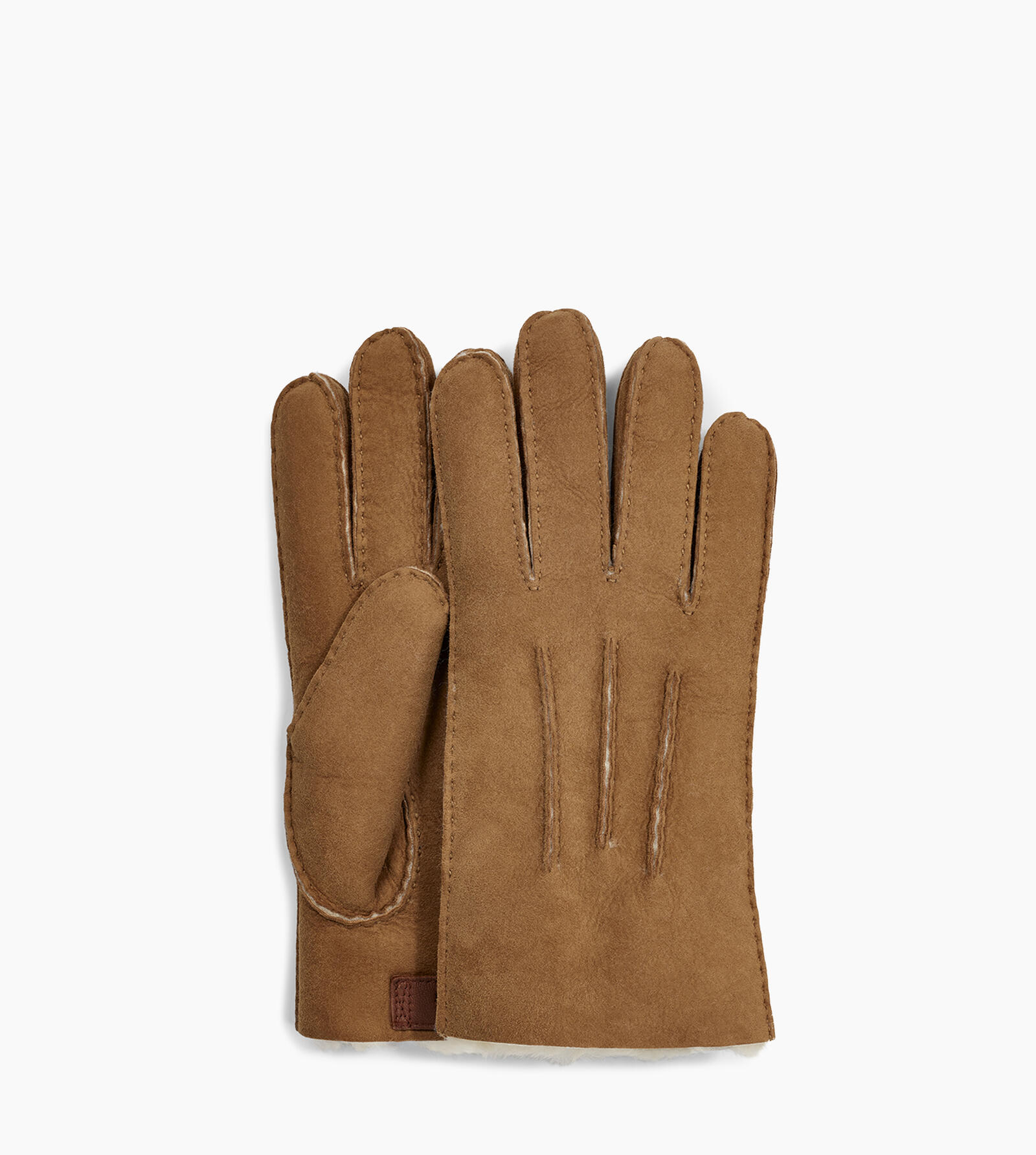 Contrast Sheepskin Glove