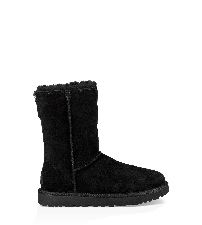 DamenDe Zip Ugg® Short Classic Boots Für nO0wPk8X