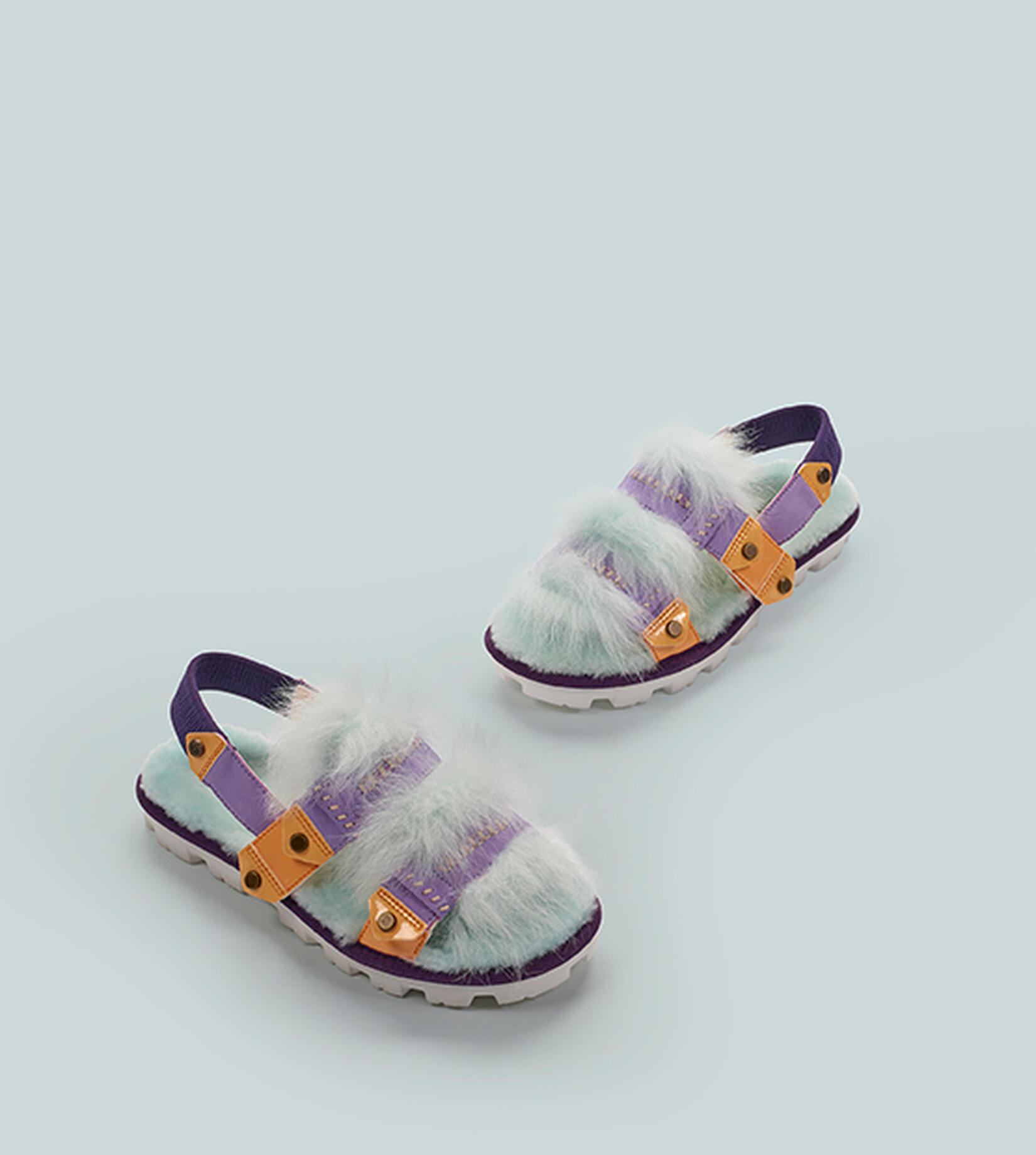 Desert Dream Patent Slingback Sandal