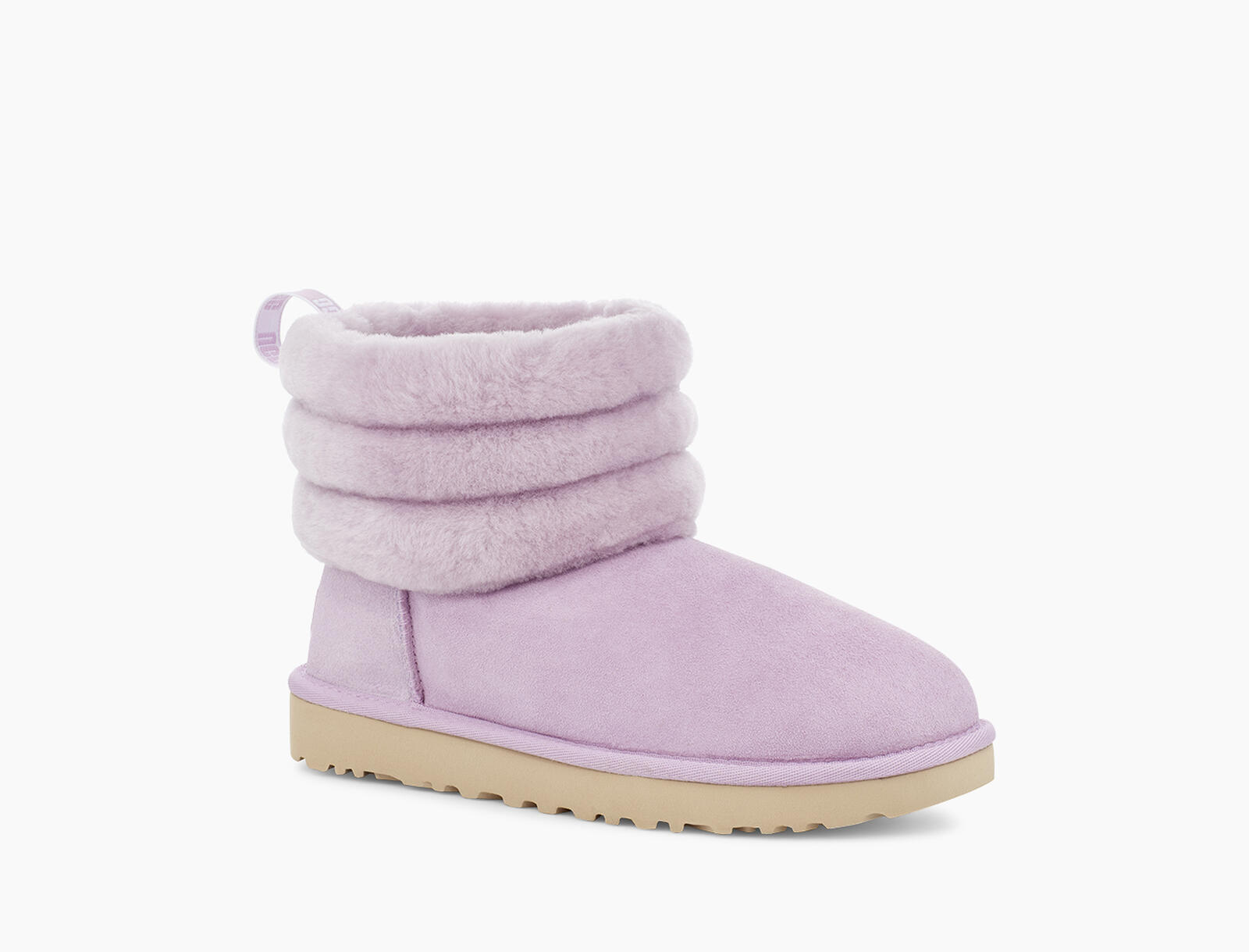 Fluff Mini Quilted Logo Bottes