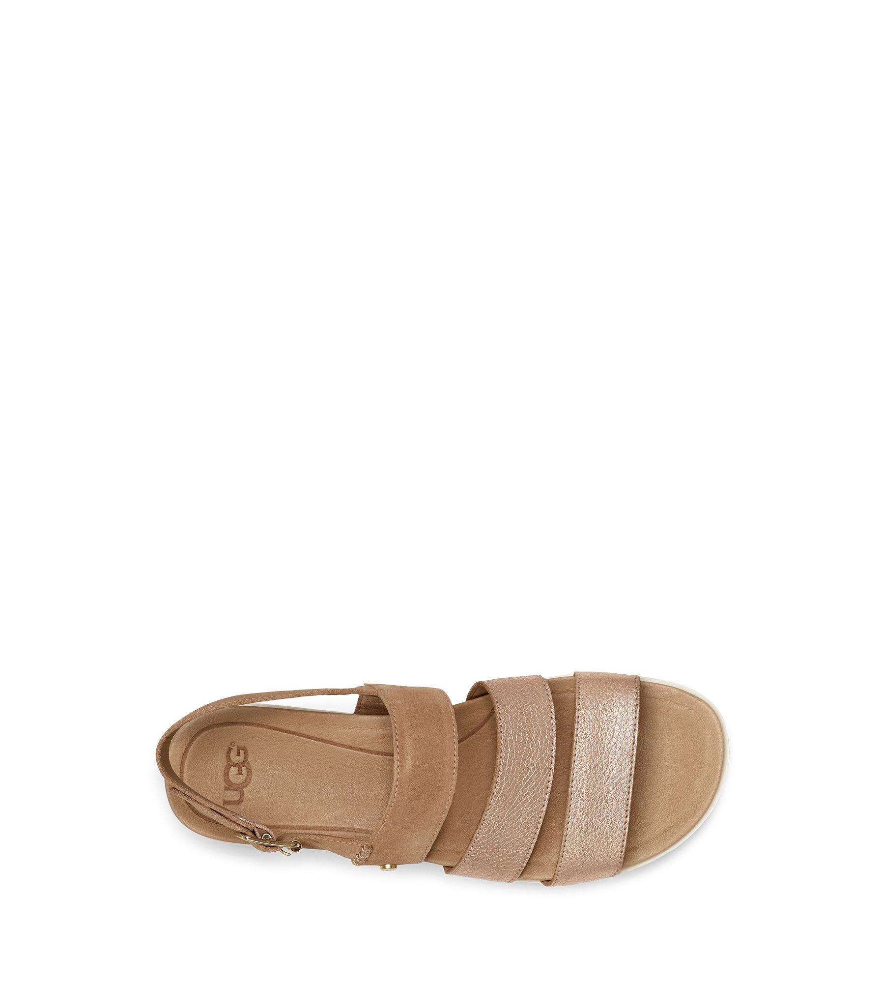 UGG® Braelynn Metallic Sandaletten für Damen   UGG® DE