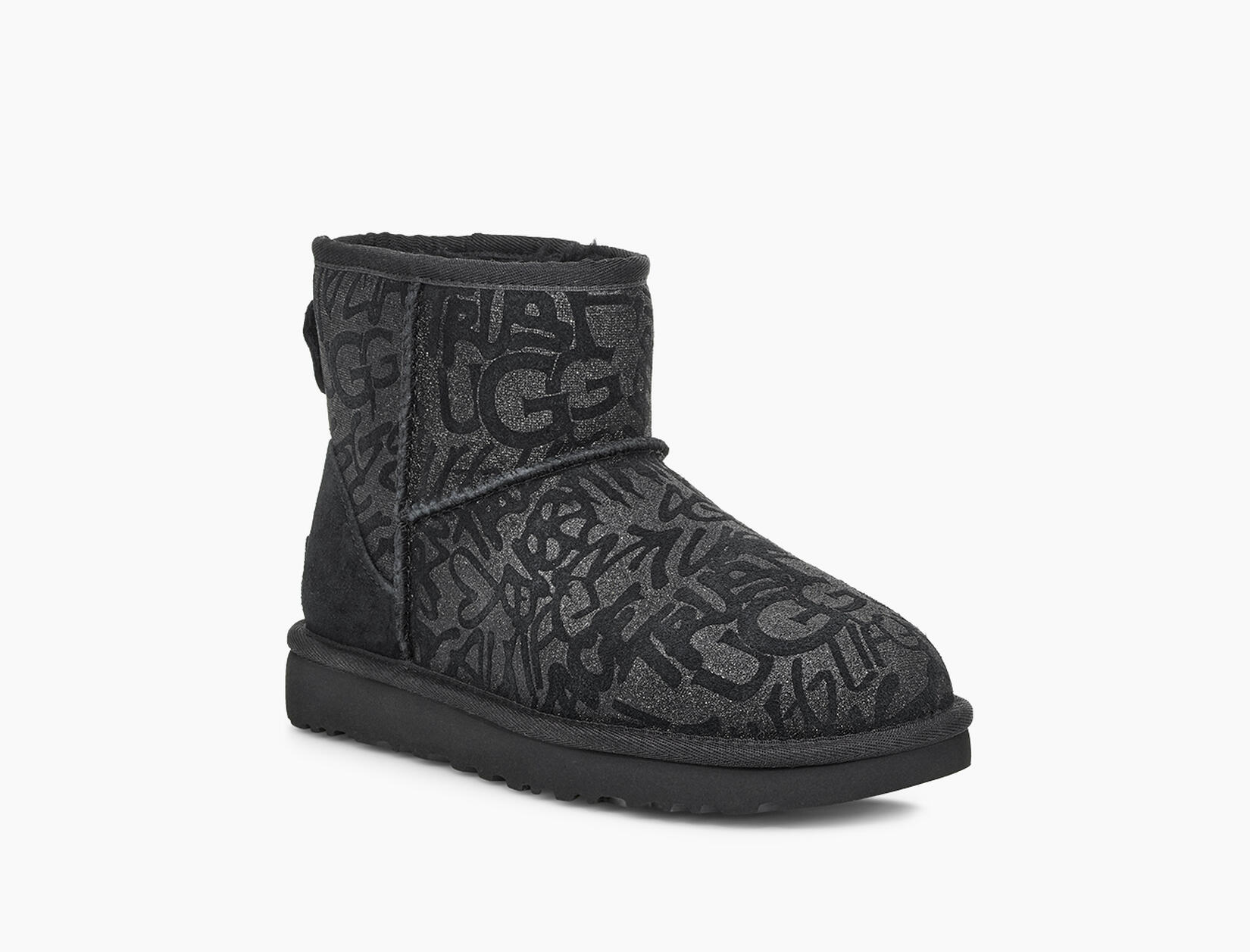 Classic Mini Sparkle Graffiti Boot