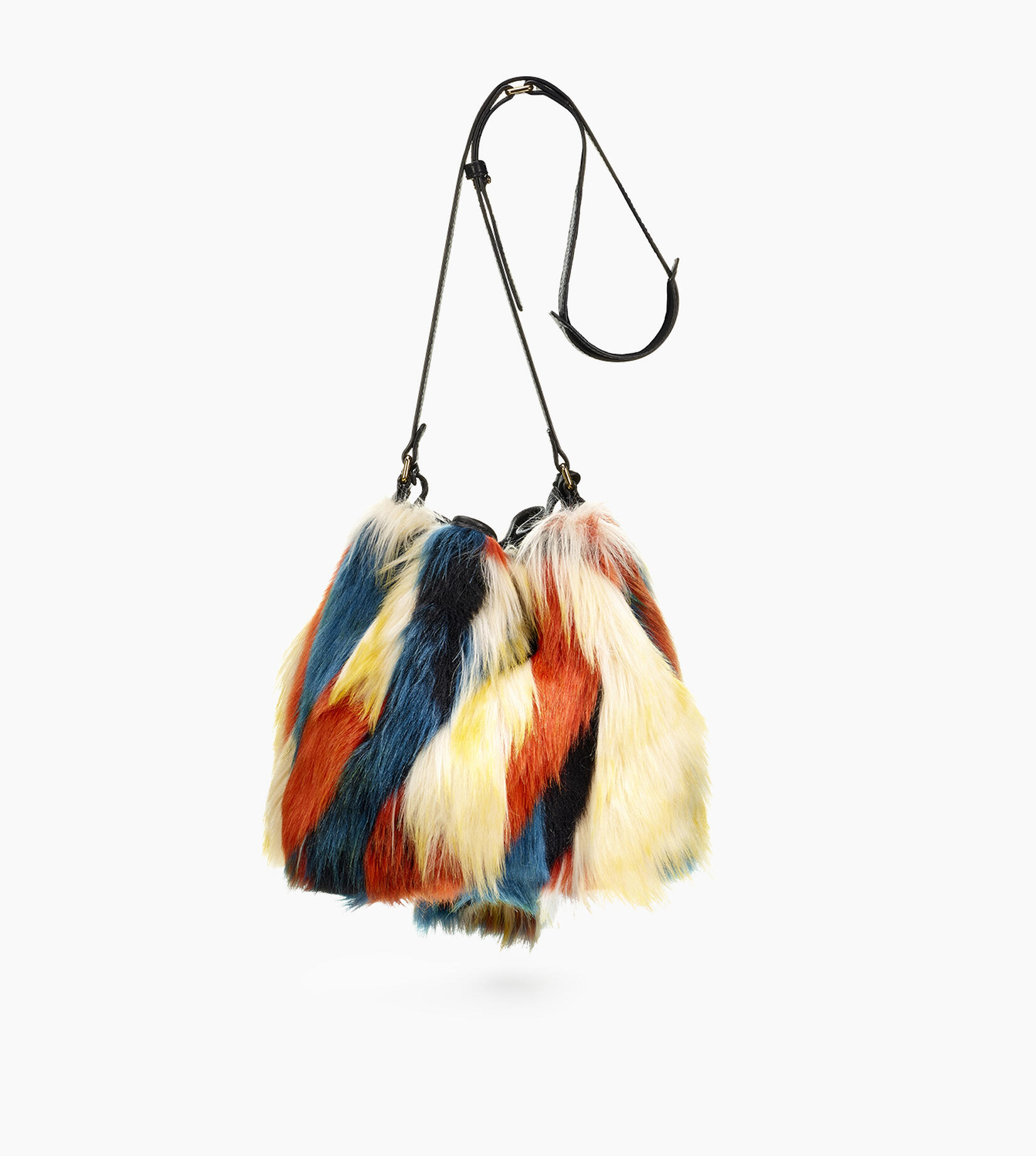 Lidiya Bucket Patchwork Bag