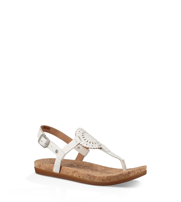 Ugg Ayden Ii Silber Flache Sandalen Damen | Online Bestellen