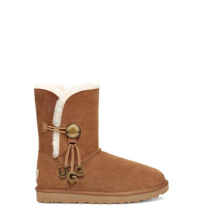 Bailey Button Logo Charm Boot